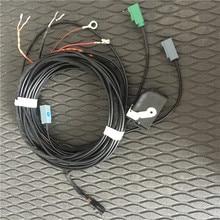 Для Audi A4 B8 Q5 реверсивная камера rvc кабель для камеры