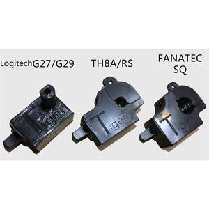 Image 2 - 16 สปีดShifterโมดูลสำหรับLogitech G25/G27/G29/TH8A/FANATEC SQยูโรอเมริกันรถบรรทุกมาตรฐานProfessional Edition