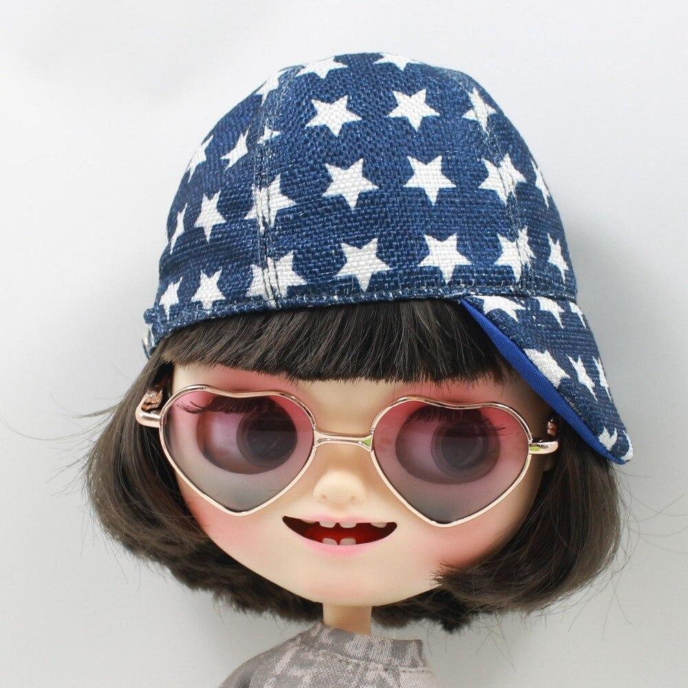 Neo Blythe Doll Heart Shaped Glasses 6