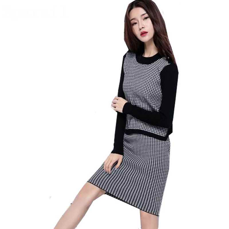 Hot Sales 2016 Womens Autumn Cashmere Blend Knitted Pullover Mini