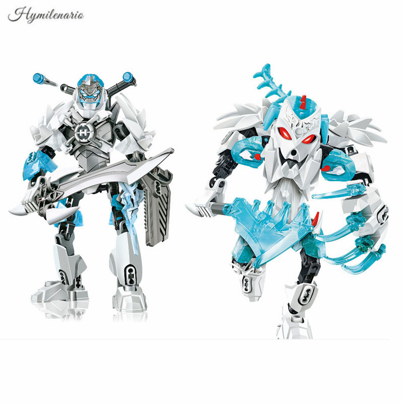2019 Bionicle Hero Factory 5 Star STORMER FROST BEAST Robot Action Figures Building Block Brick City Assembly Toys For Children