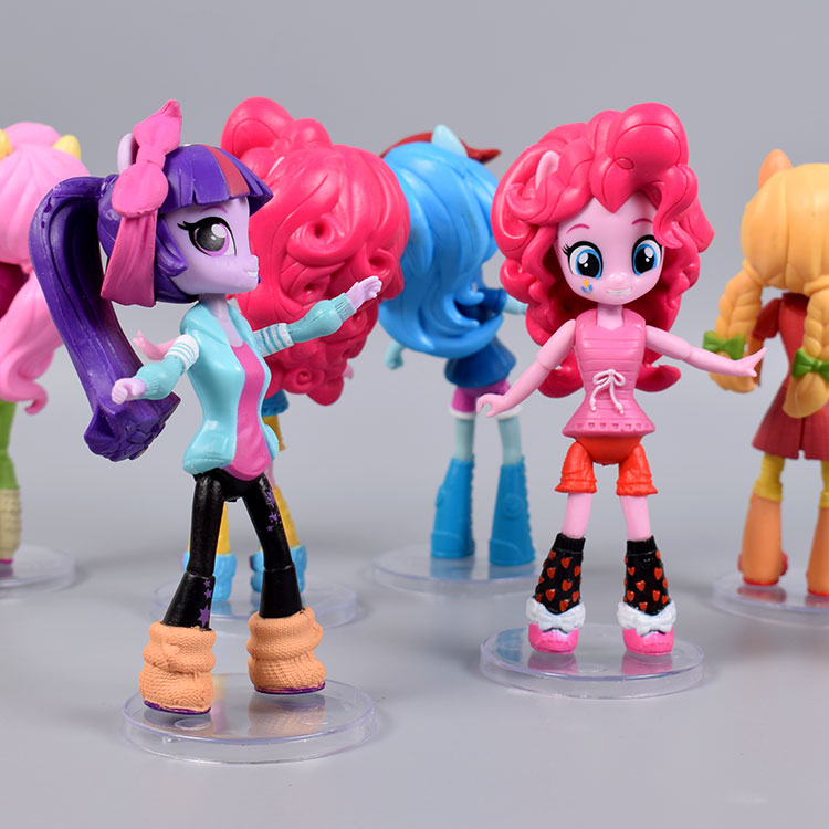 My Little Cute Pony Girl Figurines 13cm 15