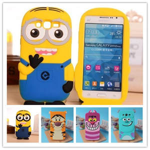 3D Cartoon Monsters University Sulley Silicone Case For Samsung Galaxy Grand Prime