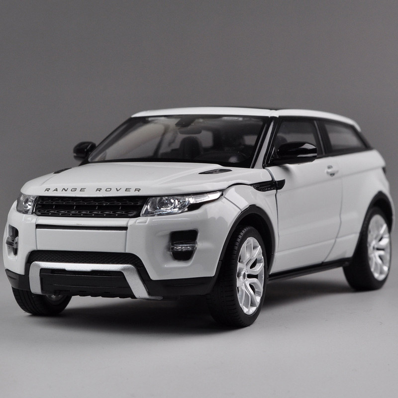 Diecast Vehicles Toys Range Rover Aurora 1:24 Diecast Model Cars Collection Toy