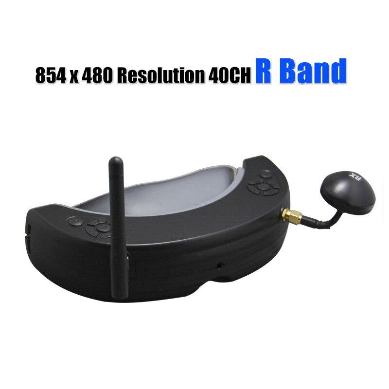 UUUSTORE nouveau 5.8g 854 * 480HD Fpv automatique scan diversité moniteur lunettes poids 198g pour drone de course de haute qualité