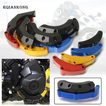 motorcycle accessories Engine Stator Crash Pad Slider Protector Guard Cover For Yamaha MT-09 MT09 MT 09  2014 2015 2016 2017