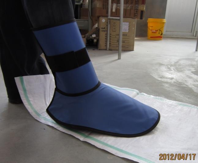 Fuß Schutz Stiefel Medizinische Schutz Humor 0,35 Mmpb Röntgen Schutzschuhe Decken