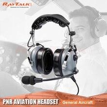 Авиационные наушники с шумоподавлением, наушники PNR Pilot Aviation, гарнитура для самолетов общего назначения