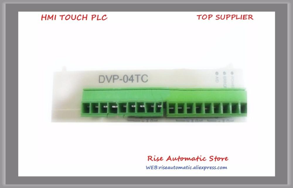 DVP04TC-S Delta PLC 4 channel K J type Thermocouple Module New Original 9 8ft 8p mini din to rs422 plc programming cable for delta dvp easyview tk6070