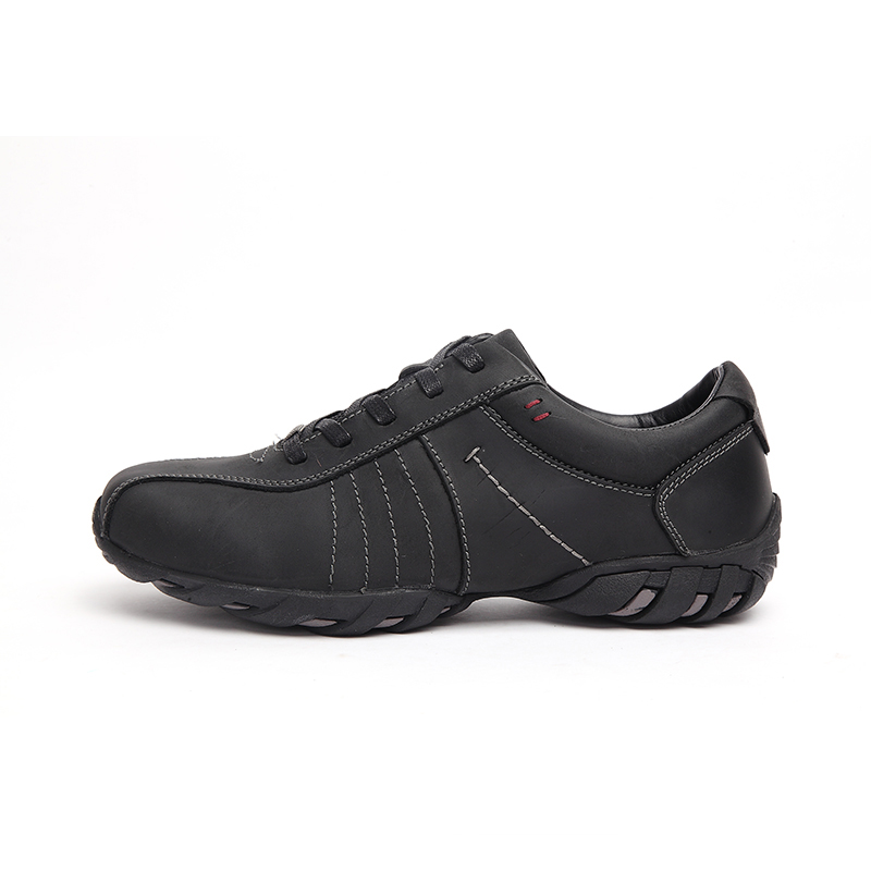 Image 3 - LINGGE/брендовая мужская обувь в деловом стиле; Мужская обувь из натуральной кожи на шнуровке; Мужская обувь коричневого цвета на резиновой подошве; удобная повседневная обувь-in Мужская повседневная обувь from Обувь on AliExpress