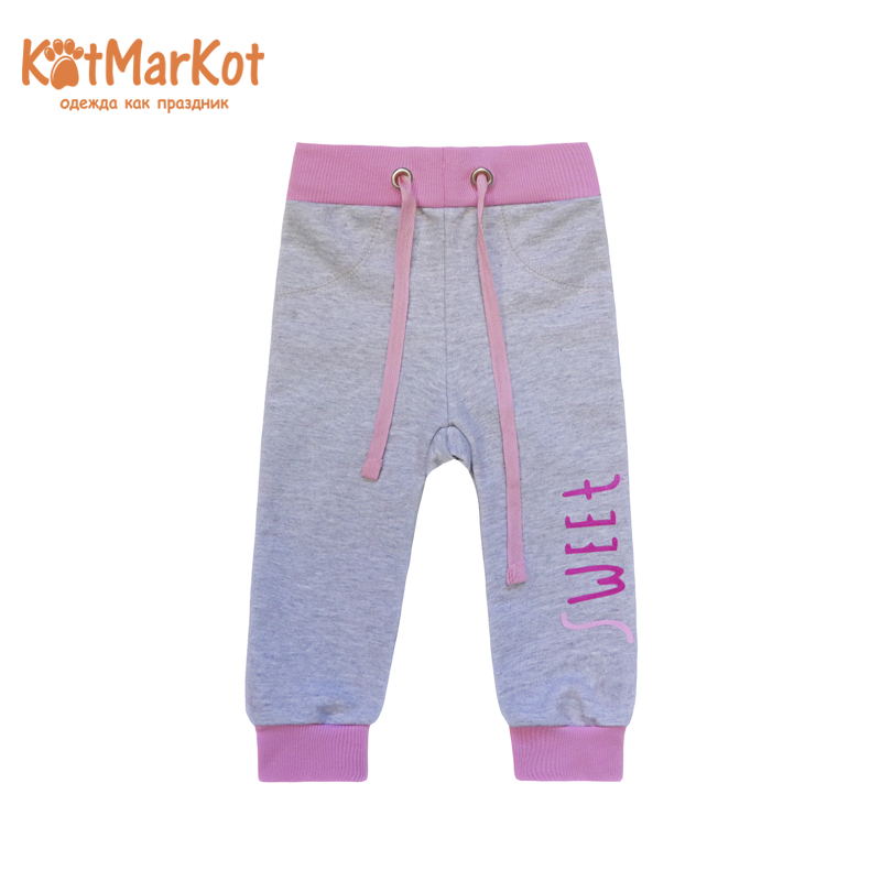 Pants for girls КОТМАРКОТ 75702 girls contrast tape pants