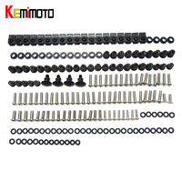 KEMiMOTO For Ducati 848 1098 1198 Motorcycle Fairing Bolt Screw Fastener Nut Washer For Ducati 848