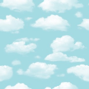 Non-woven Cartoon Wallpaper Kids  Blue Skye Clouds Room Ceiling Mural Decor  Rolls ceiling non woven wallpapr home decoration wallpapers for living room 3d mural wallpaper ceiling customize size