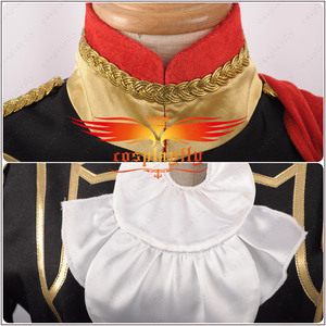 Image 4 - Fire Emblem: Three Houses Edelgard Fancy Battle Stage Girls Cosplay Costume Adult Women Outfit Top Shorts Cloak Stock Halloween