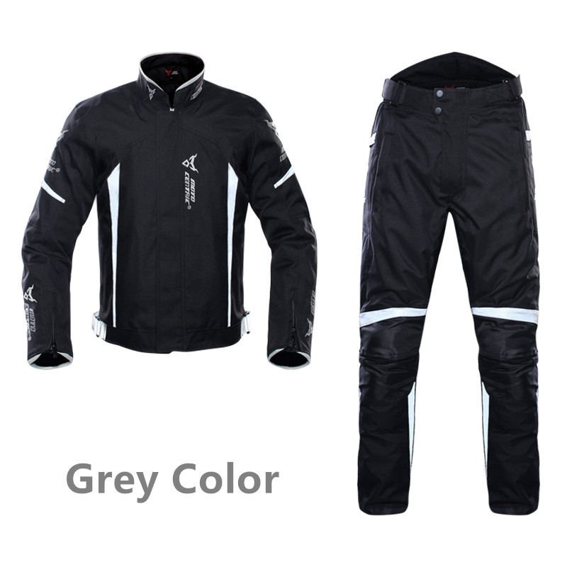 Motorcycle Jacket Motorbike Riding Jacket Pants Windproof Motorcycle Full Body Protective Gear Armor Autumn Winter Moto Clothing herobiker armor removable neck protection guards riding skating motorcycle racing protective gear full body armor protectors