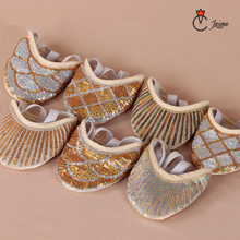 New Arrival Protector Professional Ballet Dance Socks 1 Pair Belly Dancing Foot thong Accessories Toe Pads Gold