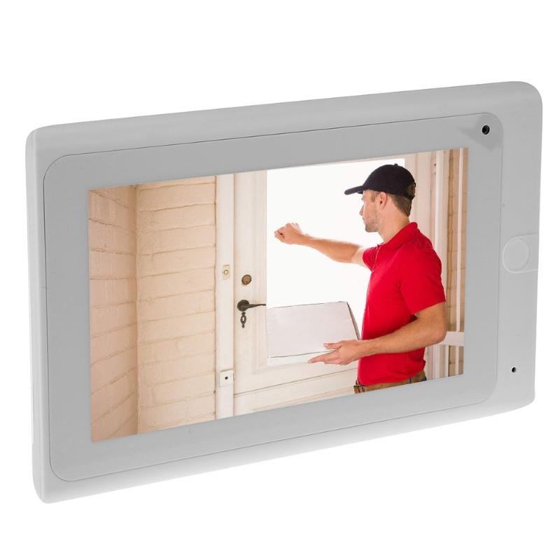 7inch Wireless Video Doorbell Hand Free Intercom Door Phone Camera Night Vision High Definition Digital LCD Monitor wireless 7inch lcd monitor