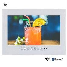 Souria 19 дюймов Смарт Android ванная комната IP66 водонепроницаемый телевизор Бескаркасный СВЕТОДИОДНЫЙ монитор отель используется светодиодный телевизор черный/белый цвет