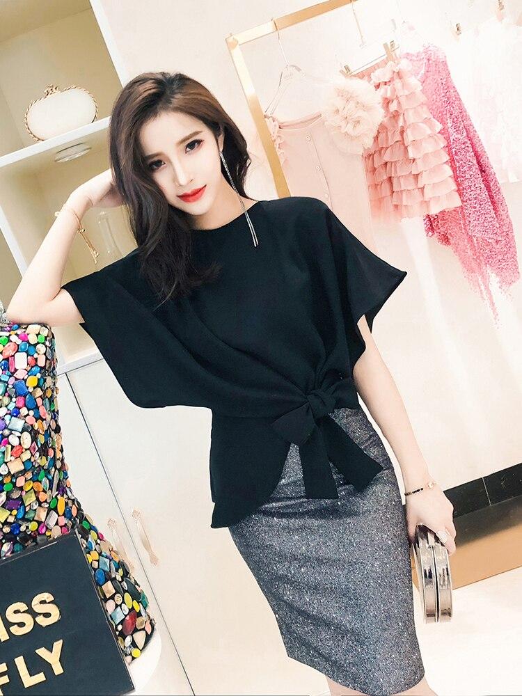 Moda Pu Nuevo Para 2018 Falda De Otoño Alta Cuero Temperamento Mujer Cintura Coreano RaxqO17