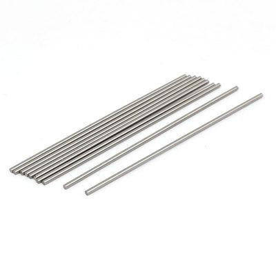 20Pcs 1mm-3mm Dia HSS High Speed Steel Round Lathe Turning Tool Bar Milling