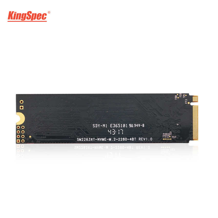 KingSpec M.2 SSD 500GB 512GB PCI-e3.0X4 Signal NVMe Solid Hard Disk HDD HD 22X80 SSD M2 Internal Hard Drive for Laptop Tablets