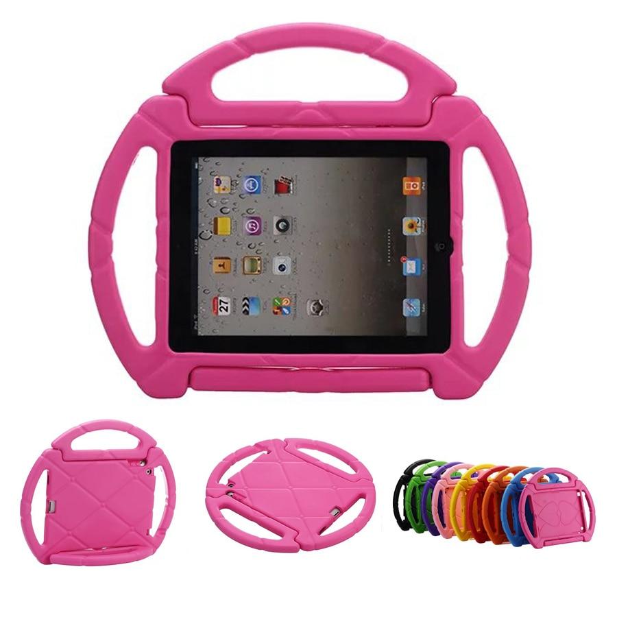 New Arrival Gift Children Kids Case for iPad 4 3 2 Steering Wheel Shockproof Foam EVA Cover Case for Funda iPad 2 3 4 ipad 3 new 16gb