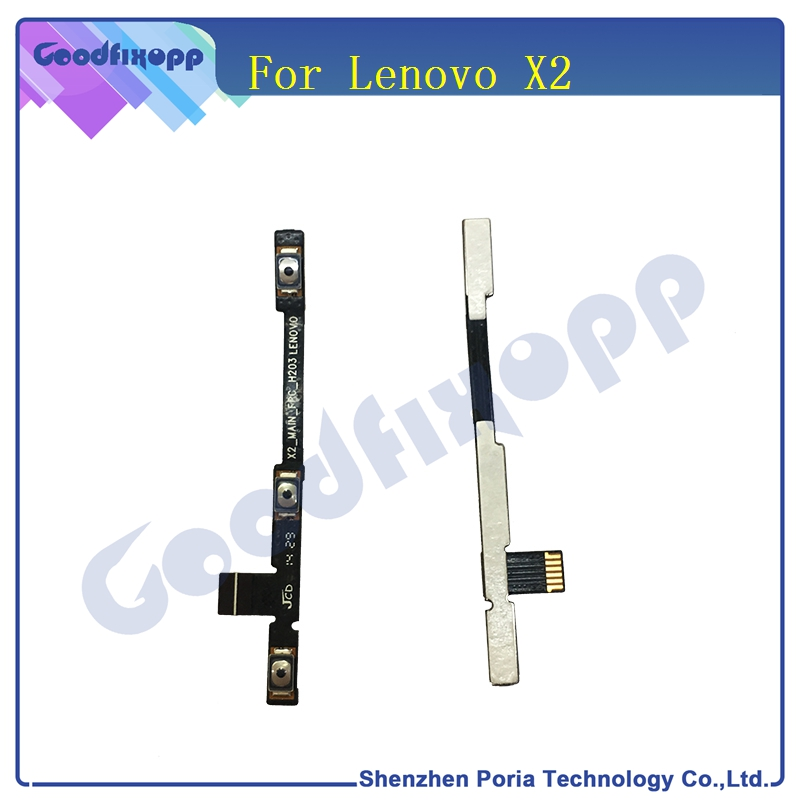 Original For Lenovo Vibe X2 Power On Off Volume Button Up Down Key Flex Cable Ribbon Replacement Parts Cable For Lenovo Vibe X2