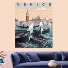 Венеция dinghy гобелен с рисунком мандалы винтажный узор ретро