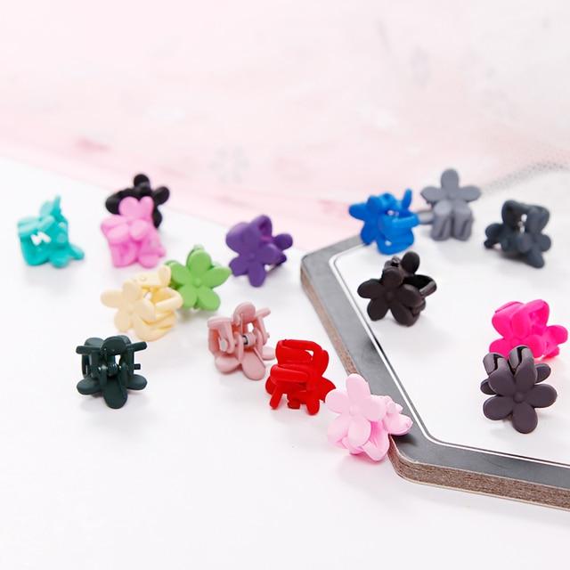 5/10pcs/Lot Girls Cute Small Plum Blossom Hair Claws Children Lovely Hair Clips Hairpins Headbands Kids Fashion Hair Accessories 5