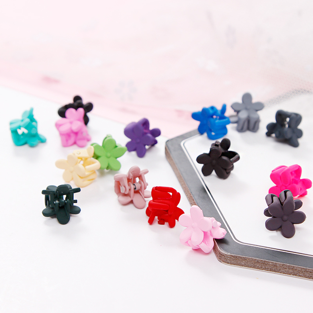 10pcs/Lot Girls Cute Small Plum Blossom Hair Accessories