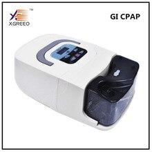 XGREEO Портативный CPAP машины респиратор для апноэ сна OSAHS СОАС храпящие люди W/носовые шапка-маска труба сумка