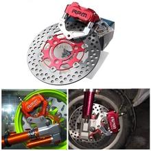 Cheap price RPM motor Brand Motorcycle Brake Caliper+Brake Pump Adapter Bracket+200/220mm Disc For Yamaha Aerox Nitro BWS 100 Zuma JOG WISP