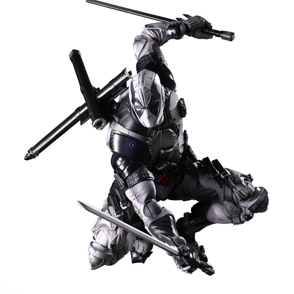 QICSYXJ Birthday Gift Supply Superhero Action Collection 26cm Gray PA Kai Deadpool Toy Figure X Men Movable Model hot sale movie super cool deadpool action figure toy marvel deadpool display decoration doll collection children juguetes gift