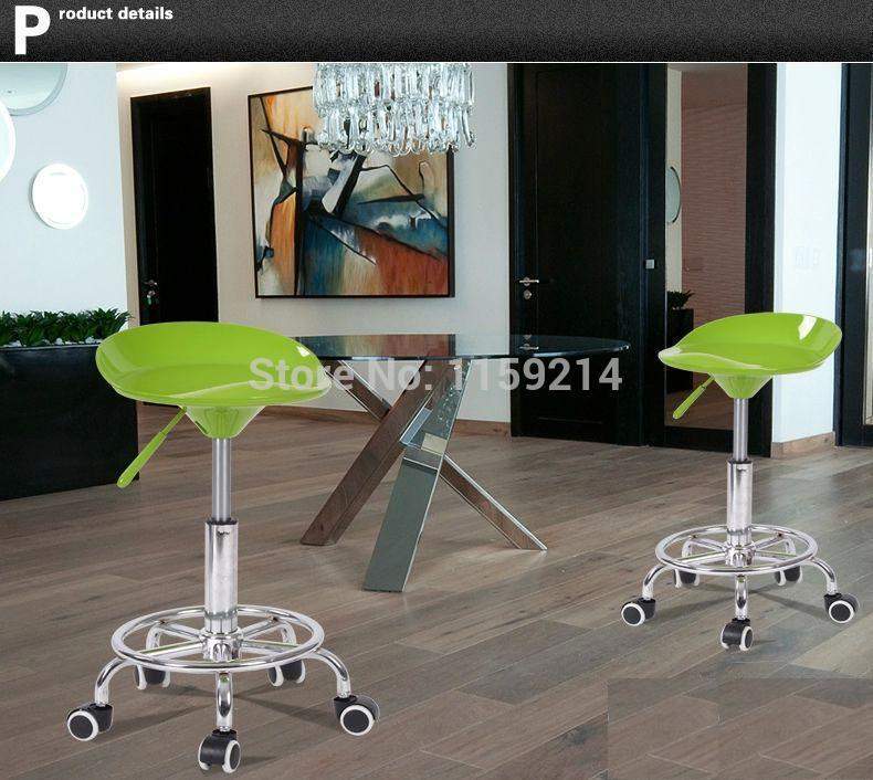 South American pop fashion bar chairs Hair Salon Stool household blue red green chair free shipping lift rotation chair рубашка в клетку dc south ferry 2 south blue