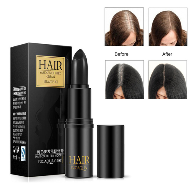 Instant Gray Root Coverage Hair Color Modify Cream Stick