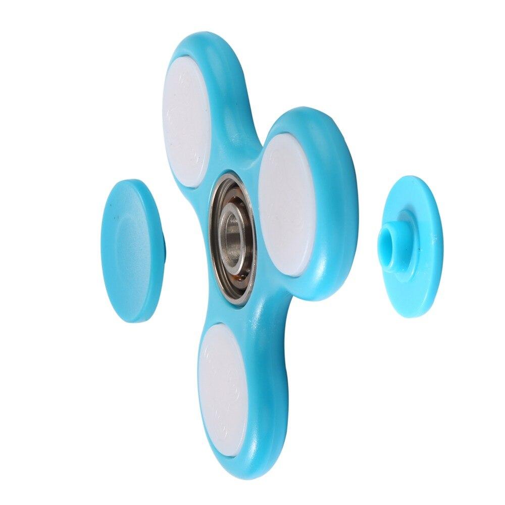 Cahaya Baru Fidget Spinner Led Stres Tangan Pemintal Menyala Dalam Mainan Anti Stress 75cm Getsubject Aeproduct