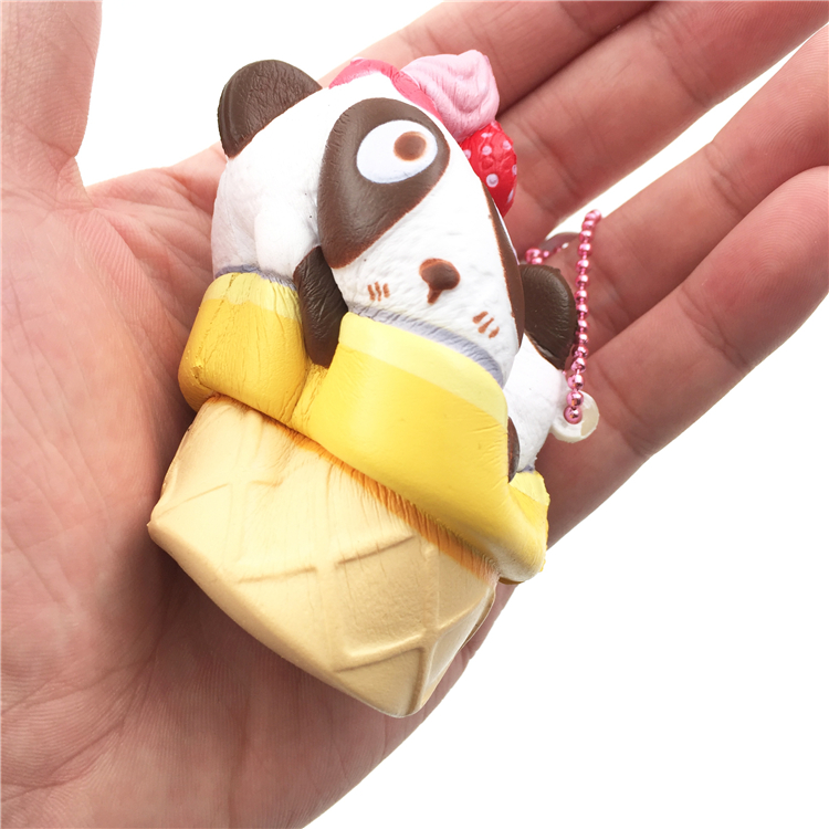 4cm Mini Squishy Slow Rising Jumbo Lanyard Squishy Slow Rising Steamed Bread Panda Squeeze Lanyard For Keys Groot Phone Strap Advertising