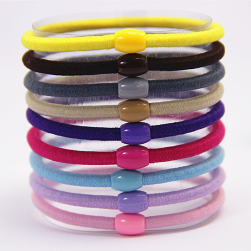 2016 Hot Sale Solid Hairband Children 20 Pcs New Korean Fashion Hair Accessories Candy Color Elastic Bands Girl Rope Headband hot 12pcs pack candy color elastic headband children small stretchy hair rope rubber bands