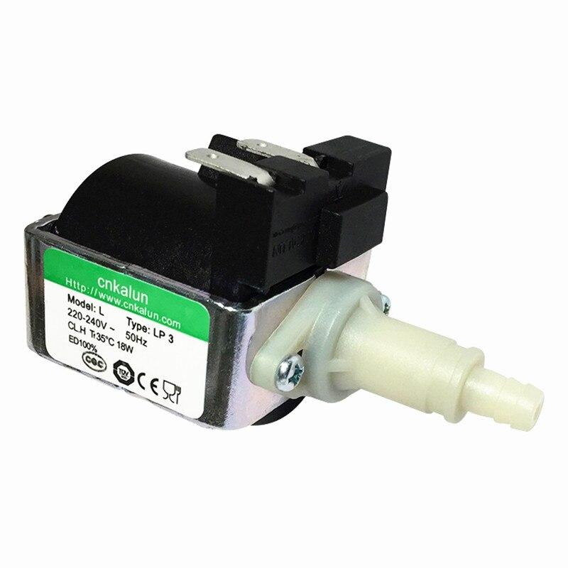 Générateur de vapeur Micro électromagnétique pompe tension 220-240 (v) puissance 25 W 18 W (kw) débit 100-900 ml (m3/h) ascenseur 3 (m)