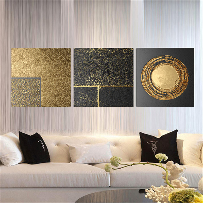 Abstract Geometry Nordic Canvas Painting Picture Home Decor Wall Art Poster Retro Print Living Room Backdrop Vintage Picture