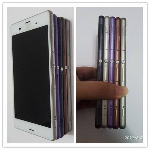 JIEYER For <font><b>SONY</b></font> Xperia <font><b>Z3</b></font> Display Touch Screen with Frame For <font><b>SONY</b></font> Xperia <font><b>Z3</b></font> LCD Screen Dual <font><b>D6603</b></font> D6633 D6653 D6683 image