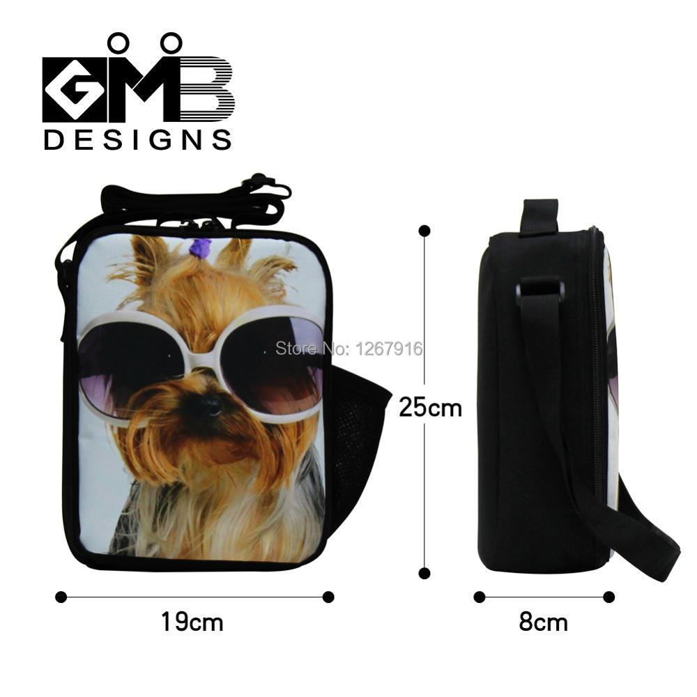 303ad2ae5730 US $16.98 26% OFF Animal Lunch Bags Pattern for Adults Cool Lunch box Bag  with Shoulder Straps for Kids Teenagers Lunch Cooler Bag Girls Food Bag-in  ...
