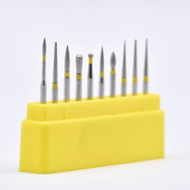 Dental Diamond Burs Drill Dental Burs Dia-burs for High Speed Handpiece Medium FG105 106 Dental Tools Dentistry Lab 2
