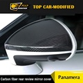 Free shipping Carbon fiber Rearview mirror cover Side Mirror Cover for Porsche Panamera 2015