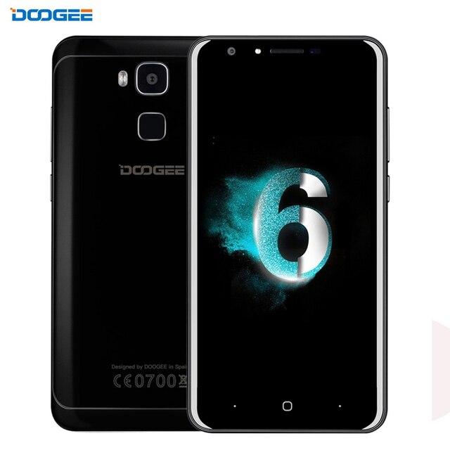 DOOGEE Y6 64GB/4GB Network 4G Fingerprint Identification 5.5'' 2.5D Android 6.0 MTK6750 64-Bit Octa core BT OTA WiFi GPS FM