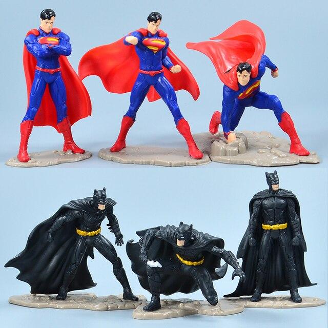 Vingadores Marvel superhero Infinito Guerra Homem De Ferro Hulk Thor Spiderman Batman Superman Super Heroes Figuras de Ação Brinquedos