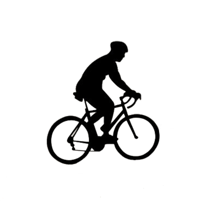 11 712 8cm Fashion Bicycle Race Car Stickers Cartoon Motorcycle