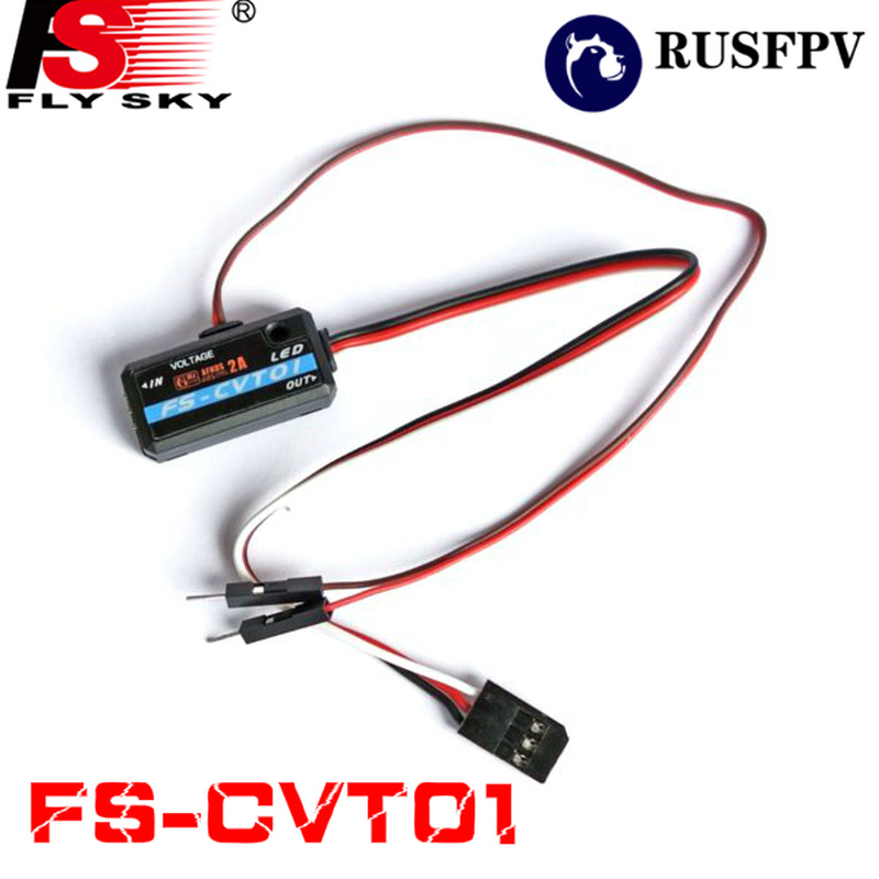 Flysky FS-CVT01 CVT01  Voltage Collection Module For IA6B IA10 Receiver FPV Racing Drone