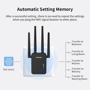 Image 5 - Двухдиапазонный повторитель Comfast, 1200 Мбит/с, 5 ГГц, 4 антенны