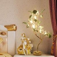 Хрустальная лампа креативная свадебная комната для бракосочетаний украшения бра спальни светильники прикроватных тумбочек Континентальн